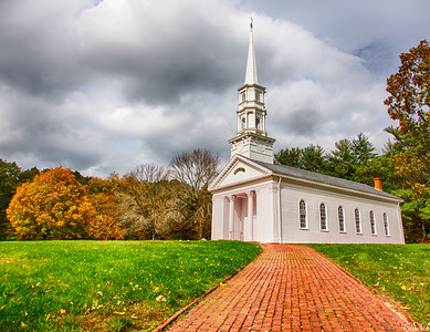 Martha Mary Church | Martha Mary Church at Longfellow's Wayside Inn and Grist Mill - Sudbury, MA.  Couldn't find the Grist Mill but found this beautiful church.