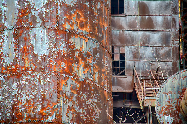 Ruins at Bethlehem Steel |