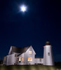 Wings Neck Lighthouse Night
