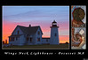 Wings Neck Lighthouse Banner